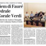 Gazzetta di Parma – 24/06/2017 – Concerto in Duomo