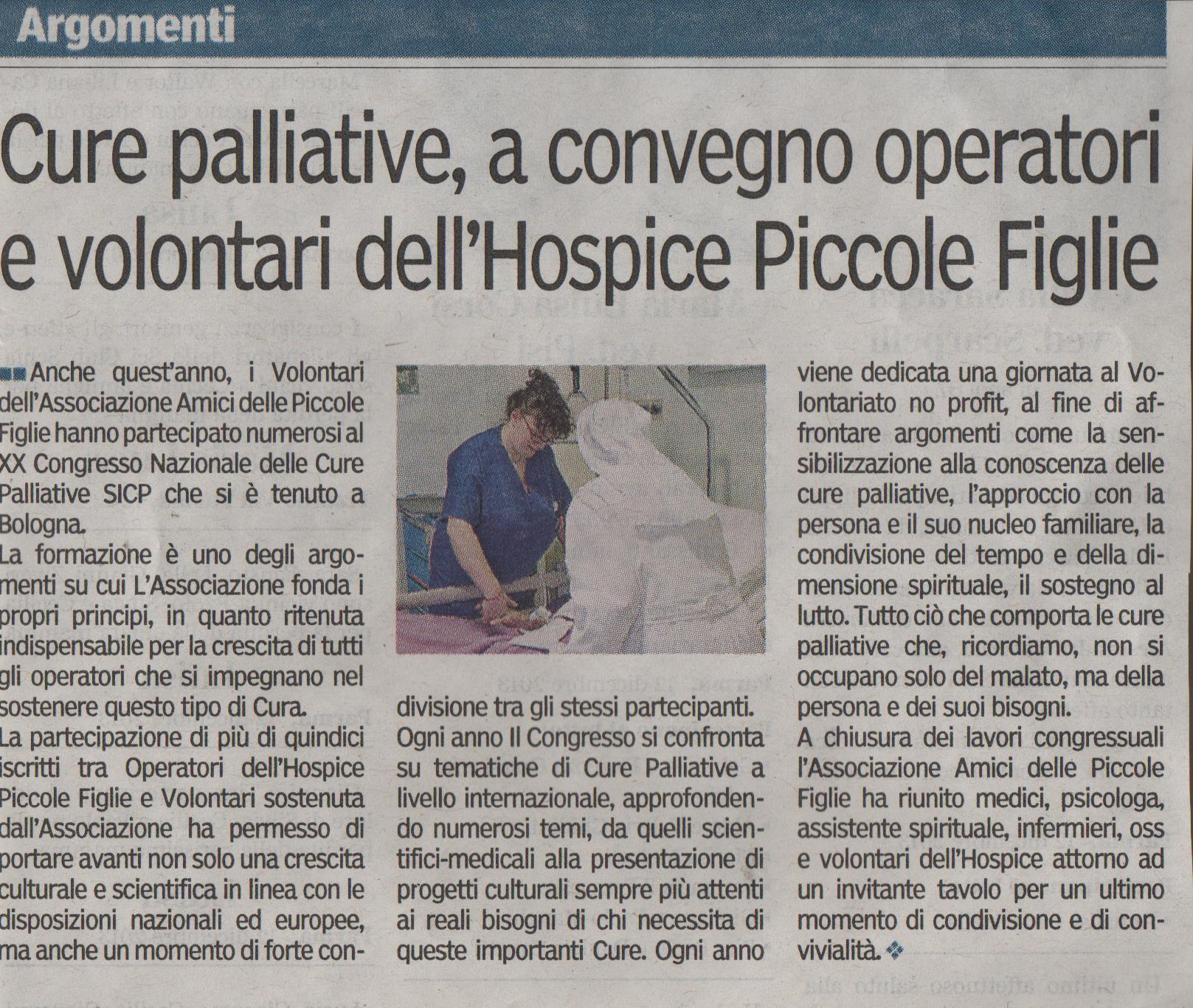 Gazzetta di Parma 15 novembre 2013