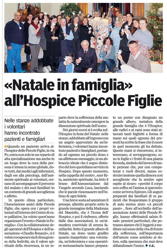 Gazzetta di Parma 21/12/2013