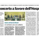 Gazzetta Parma - 06/05/2015 - concerto a favore Hospice